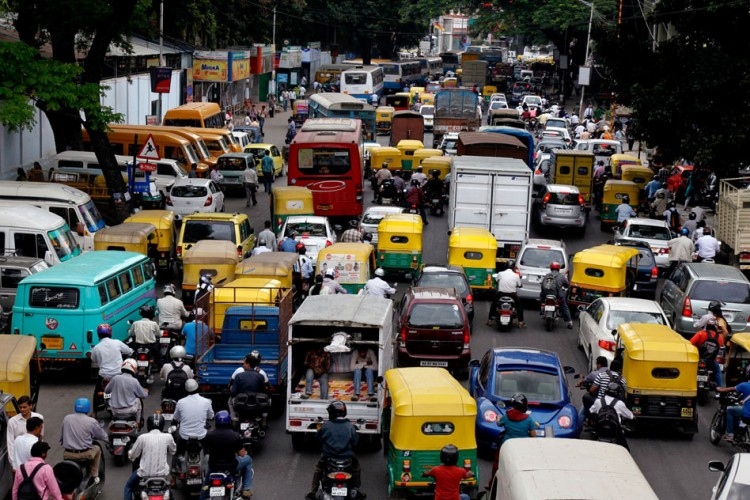 Caught In A Traffic Jam? Message Or WhatsApp 7259100100:Banglore