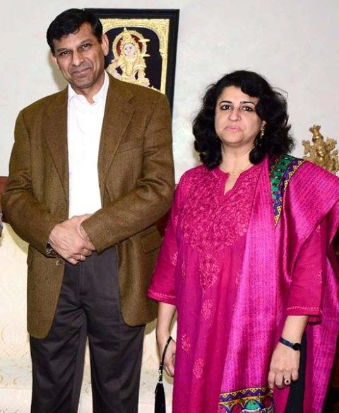 raghuram rajan and his wife