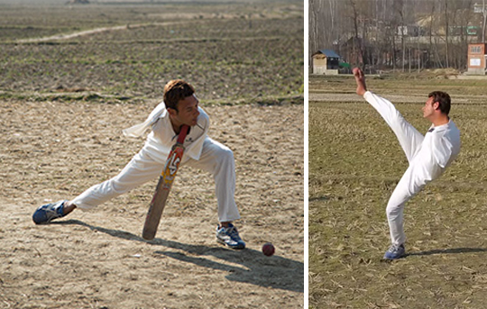 cricket player aamir husain a good baller