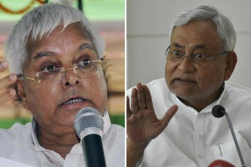 Bihar Chief Minister Nitish Kumar resigned
