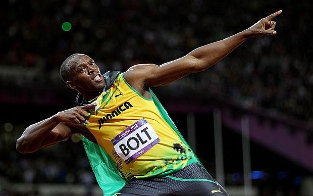 Usain Bolt- the fastest man alive