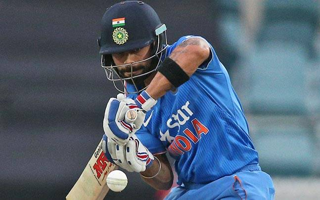 Virat Kohli fastest to reach 25 one day international hundreds