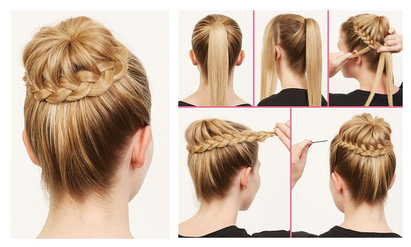Make an awesome hairstyle at your home easily