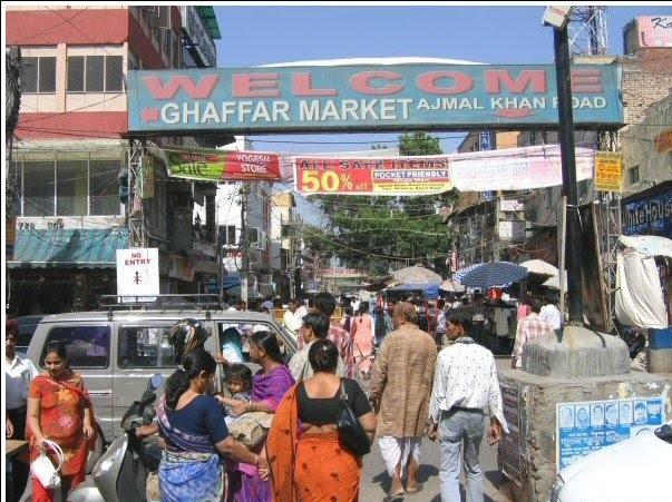 delhi markets ghaffar