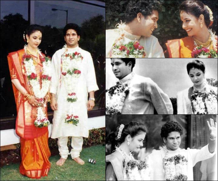 sachin anjali tendulkar wedding