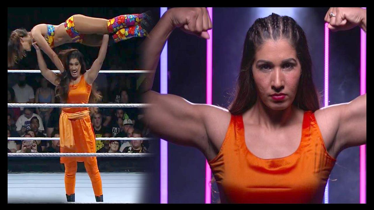 आश्चर्यजनक रहा पहली भारतीय महिला का सलवार सूट में WWE खेलना :Kavita Devi played WWE