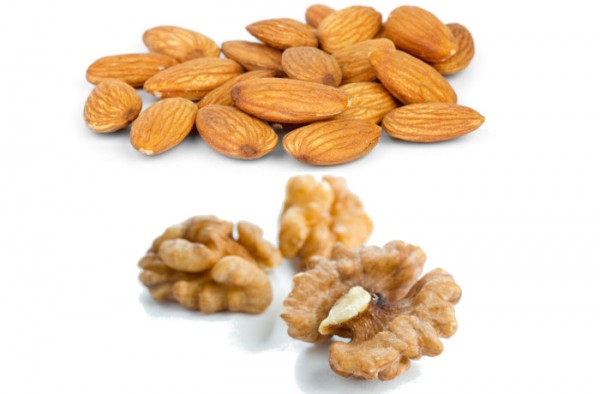 Dry fruits in vegetarian food for weight loss