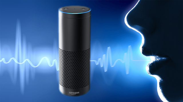 Voice speech alexa