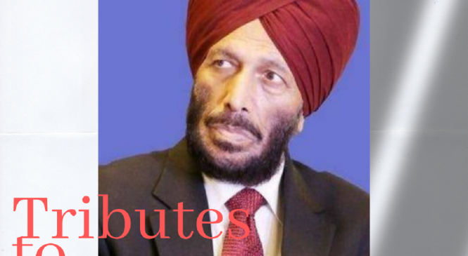 Tribute To The Flying Sikh: Milkha Singh