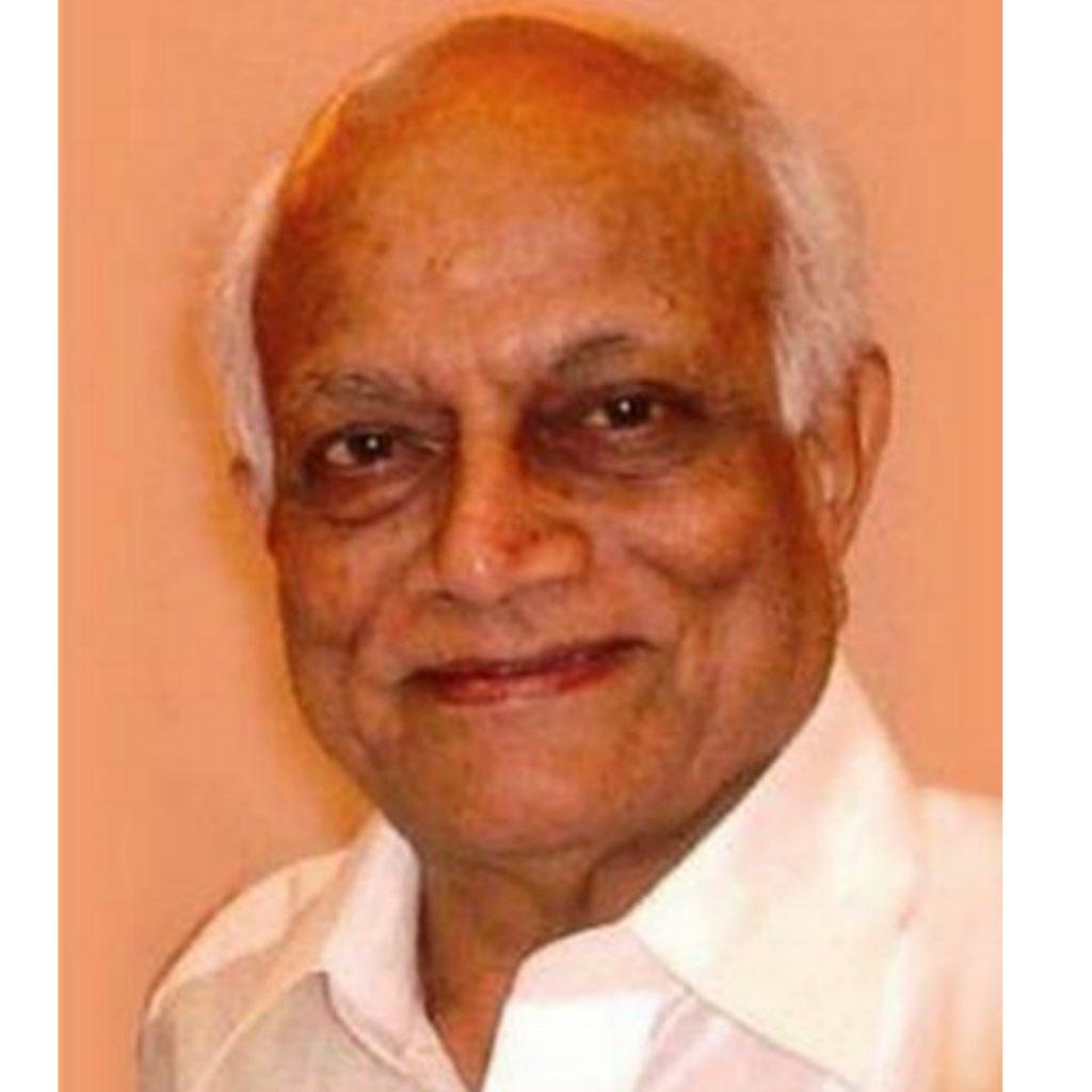 Dr. H. Y. Mohan Ram