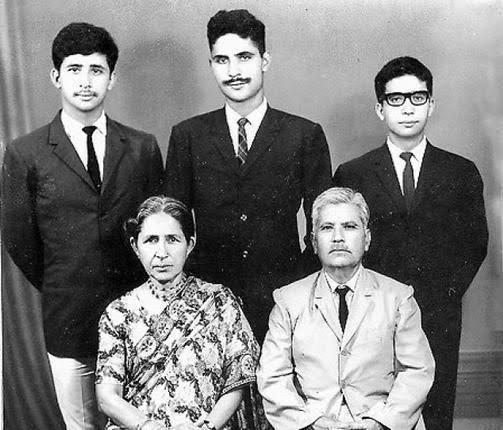 Naseeruddin shah's family