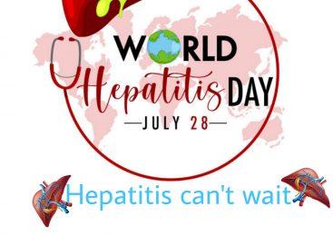 World Hepatitis Day: Hepatitis can't wait