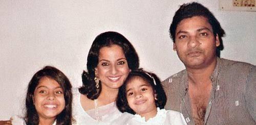 Kajol's family