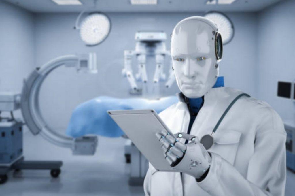 Robot did surgery