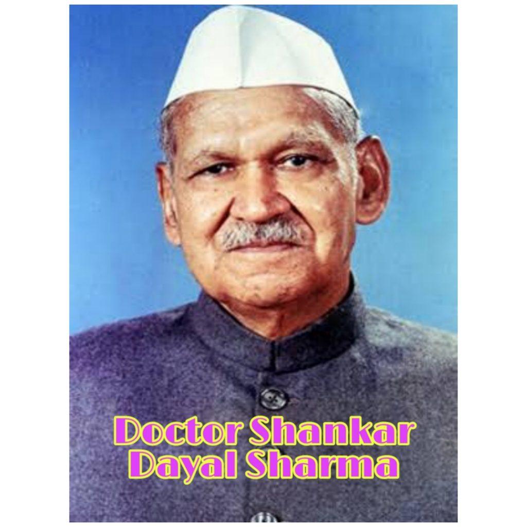 Doctor Shankar Dayal sharma