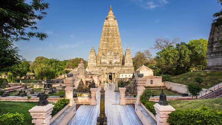 Mahabodhi temple in Bihar