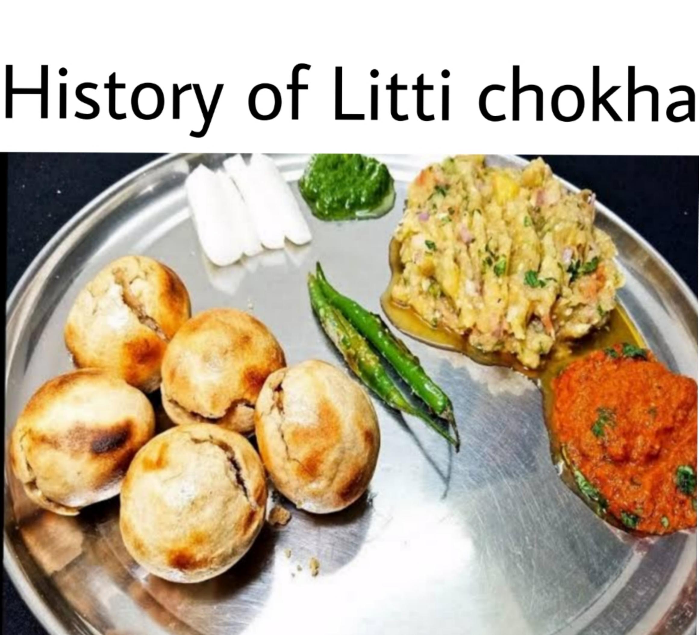 history of litti chokha