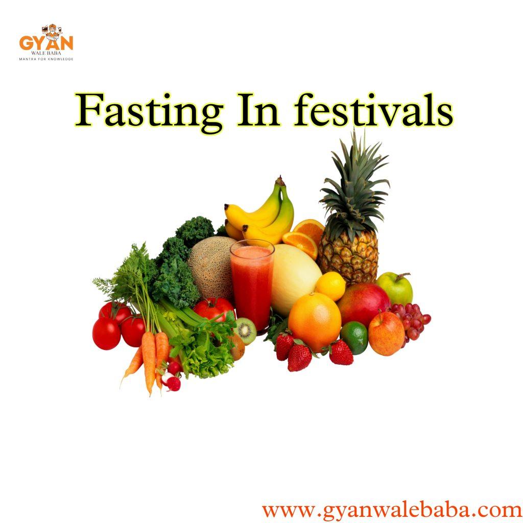 fasting in festivals